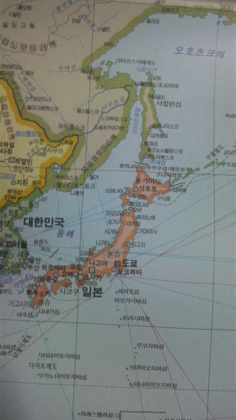 Korea-map